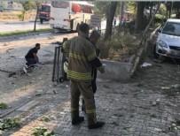 PATLAMA ANI - İzmir'de cezaevi servis aracı geçişi sırasında patlama