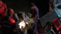 HARRAN ÜNIVERSITESI - Kadın Zanlının Peşinden Atlayan Polis Betona Zemine Düştü