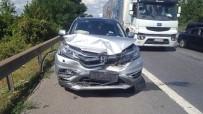 ACıSU - Kocaeli TEM'de Trafik Kazası Açıklaması 4 Yaralı