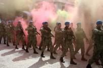 SAĞANAK YAĞIŞ - Komandolar Şehir Merkezini İnletti