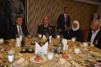 GAZİ YAKINLARI - Vali Elban, Şehit Yakınları Ve Gazilerle Yemekte Bir Araya Geldi