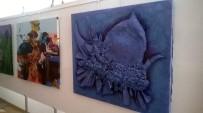 ADNAN MENDERES ÜNIVERSITESI - Aydın'da 2. Uluslararası Sanat Çalıştayında Yapılan Eserler Yeniden Sergilendi