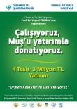 Bakan Eroğlu, 18 Milyon TL'lik 17 Müjdeyle Muş'a Geliyor
