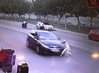 ŞIRINEVLER - Batman'da 1 Çocuğun Yaralanmasına Neden Olan Kaza Güvenlik Kamerasına Yansıdı