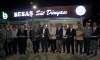 MUSTAFA BEKTAŞ - Besaş Süt Dünyası Yenişehir'de Hizmete Girdi