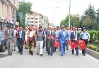 HASAN YAMAN - Bozüyük Belediyesi 1'İnci Karakucak Güreş Festivali Kortej Yürüyüşü İle Başladı