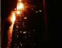 DUBAI - Dubai'de 86 katlı gökdelende yangın çıktı