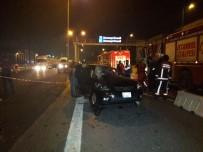HAYDARPAŞA - Kadıköy'de 3 Araç Birbirine Girdi Açıklaması 1 Ölü, 1 Yaralı