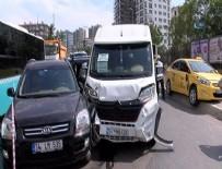 ZİNCİRLEME KAZA - Kadıköy'de zincirleme kaza
