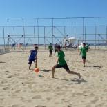 KOCAELISPOR - Plaj Futbolu Liginde Eleme Müsabakaları Başladı