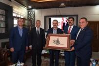 Ulaştırma Bakanı Arslan'dan Belediyeye Ziyaret