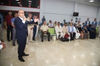 ŞEHİT POLİS - Vali Demirtaş, Kutsal Topraklara Giden Hacı Adaylarını Uğurladı
