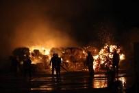 YENİMAHALLE BELEDİYESİ - Yenimahalle Belediyesi Hurdacılar Yangınına Müdahale Etti