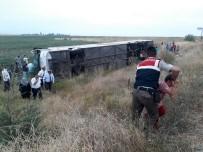 Amasya'da Otobüs Kazası Açıklaması 5 Ölü, 36 Yaralı