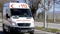 Amasya'da Otomobil Şarampole Devrildi Açıklaması 5 Yaralı