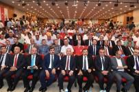Başkan Asya, Bakan Eroğlu'nun Katılımı İle Gerçekleştirilen Temel Atma Törenine Katıldı