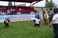 FAHRETTİN POYRAZ - Bozüyük'te 1'İnci Karakucak Güreş Festivali Başladı