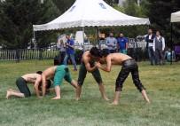 YAĞLI GÜREŞ - Büyükşehir Belediyesi Ve Aski Güreş Takımı Sporcuları, Festival Alanında 'Kırkpınar' Heyecanı Yaşattı