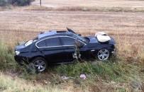 RECEP ÖZTÜRK - Çorum'da Trafik Kazası Açıklaması 4 Yaralı