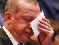 Cumhurbaşkanı Erdoğan'ın gözyaşları