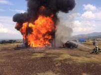 Denizli'de Çıkan Yangın Evi Kül Etti