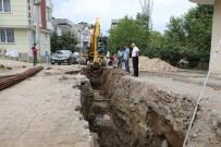 ENVER YıLMAZ - Fatsa'da Ana Su Hattı Çalışmaları