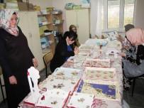 HALK EĞITIMI MERKEZI - Hisarcık'ta Ahşap Boyama Ve Vernikleme Kursu
