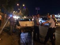 657 - İki Otomobil Çarpıştı Açıklaması 3 Yaralı