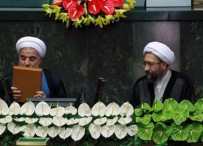YEMİN TÖRENİ - İran Cumhurbaşkanı Ruhani Yemin Etti