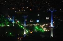TELEFERIK - Keçiören'de Kuşbakışı Ankara Keyfi