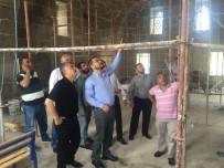 Milletvekili Açıkgöz Tarihi Caminin Restorasyon Yapımını İnceledi