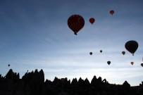 DINLER - 150 Bin Turist Kapadokya'yı Gökyüzünden İzledi