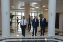 Rektör Şengörür, Vali Çiftçi'ye Kırklareli Üniversitesi'ni Anlattı