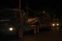 AFRİN - Suriye sınırına obüs sevkiyatı