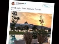 'Türkiye'ye gitmeyin ben sizin yerinize giderim!'