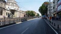 TRAFİK YOĞUNLUĞU - Aksaray'daki Ordu Caddesi Pazar Günleri İçin Yayalaştırıldı