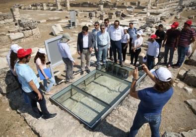 Bin 500 yıl önce yıkılan antik kentteki cadde onarılacak