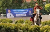 Denizli'de Atlı Okçuluk Türkiye Şampiyonası Yarı Finali