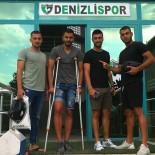 DENIZLISPOR - Denizlisporlu Cenk, 6 Hafta Sahalardan Uzak Kalacak