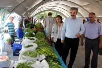 ORGANIK TARıM - Erciyesevler Mahallesi Organik Ürünler Pazarı Açıldı