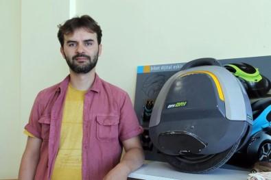 Genç girişimci elde taşınabilen taşıt üretti