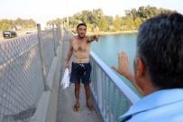 İNTİHAR GİRİŞİMİ - Kendini Jiletleyip İntihara Kalkışan Gence 'Atla' Dediler