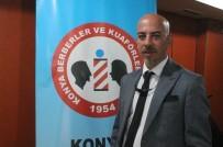 SAÇ KESİMİ - Konya'daki Berberlere Saç Kesimi Ve Renklendirme Eğitimi