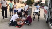 Otomobil Yayaya Çarptı Açıklaması 1 Kişi Yaralandı