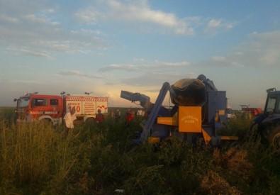 Patoz makinasına düşen mevsimlik işçi parçalanarak can verdi!