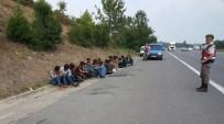 TEM Otoyolunda Mülteci Operasyonu