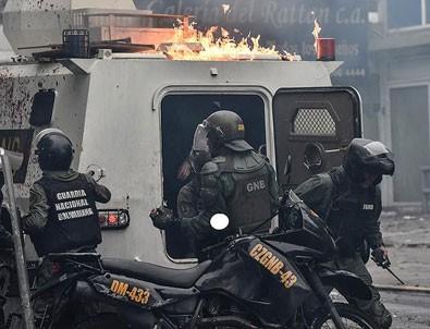 Venezuela'da askeri ayaklanma
