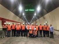 OVİT TÜNELİ - Bakan Arslan, Ovit Tüneli'ni Ziyaret Etti