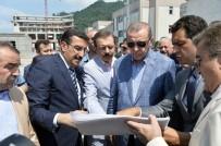 ÖMER DOĞANAY - Bakan Tüfenkci, Cumhurbaşkanı Erdoğan'a Sarp Gümrük Kapısı'ndaki Yenileme Çalışmalarını Anlattı