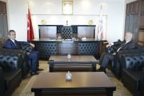 Başkan Akdemir Rektör Özer'i Ziyaret Etti